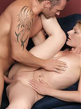 Isadora is a horny blonde MILF and there is nothing better for her than to get her pussy roughed up