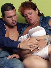 Sherry is a hefty mature housewife cheating on her husband and fucking a younger guy